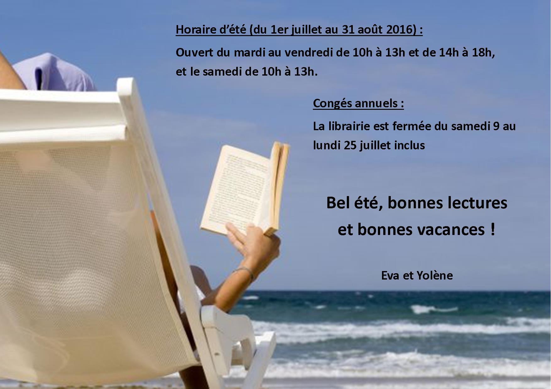 Horaire t 2016