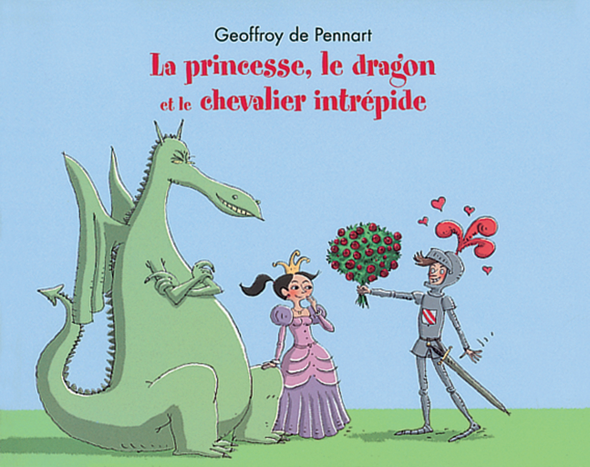 princesse dragon chevalier intrepide