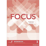 Focus Level 3 workbook + my english lab